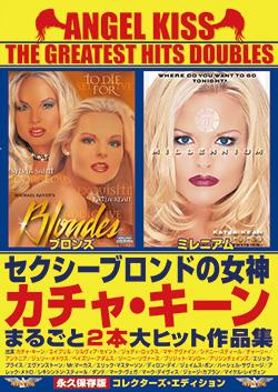 ANGEL KISS THE GREATEST HITS DOUBLES セクシーブロンドの女神カチャ・キーンまるごと2本大ヒット作品集